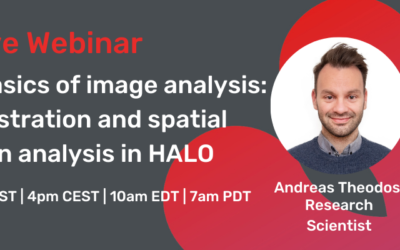 Webinar – Beyond the basics of image analysis: Image registration and spatial infiltration analysis in HALO